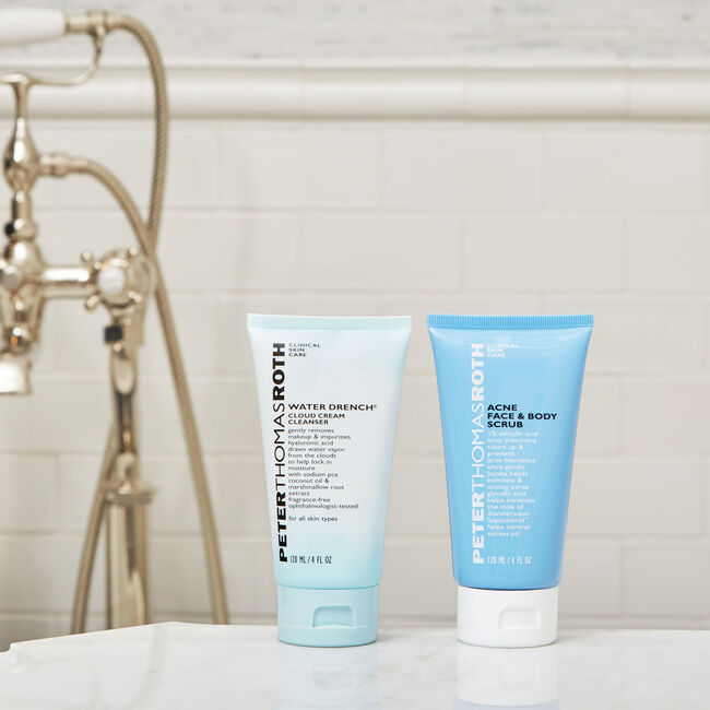 Acne Face & Body Scrub,