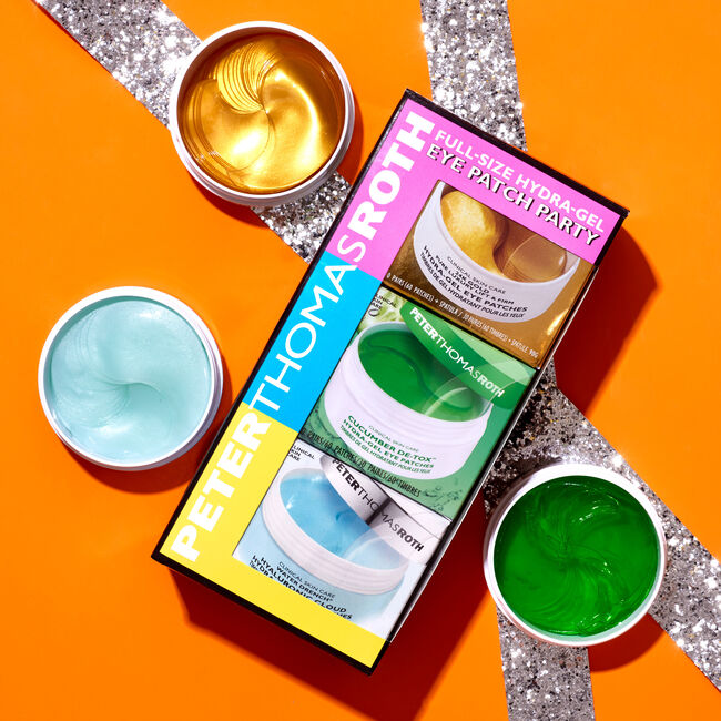Full-Size Hydra-Gel Eye Patch Party 3-Piece Kit,  image number null