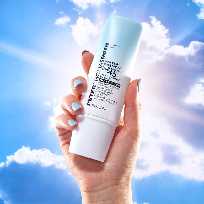 Water Drench Broad Spectrum SPF 45 Hyaluronic Cloud Moisturizer,  image number null