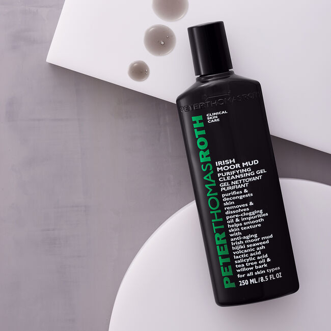 Irish Moor Mud Purifying Cleansing Gel,
