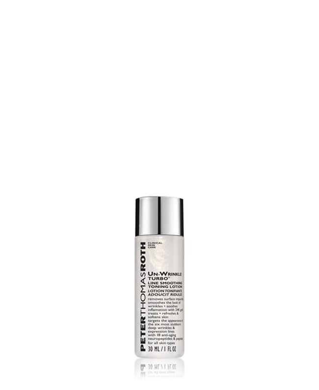 Un-Wrinkle Turbo Line Smoothing Toning Lotion - Travel Size,
