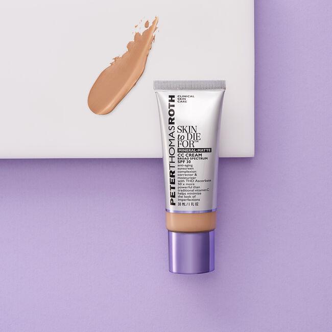 Skin To Die For Mineral Matte CC Cream SPF 30 - Light,