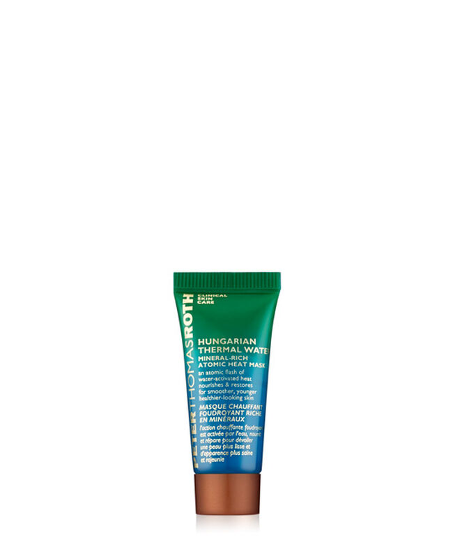 Hungarian Thermal Water Mineral-Rich Atomic Heat Mask 7.5 ML / 0.25 FL OZ,