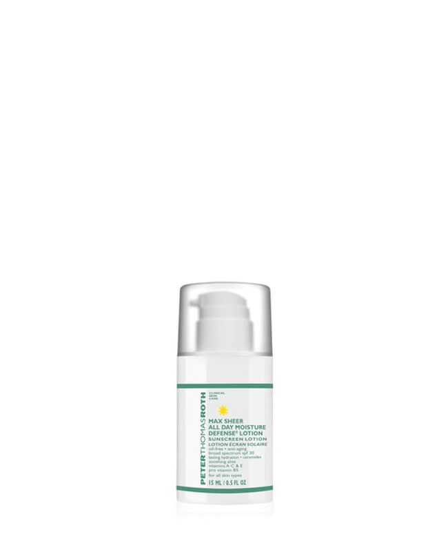 Max Sheer All Day Moisture Defense Lotion SPF 30 - Travel Size,