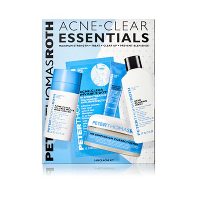 Acne-Clear Essentials 5-Piece Acne Kit,
