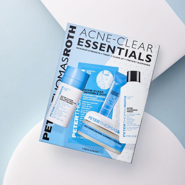 Acne-Clear Essentials 5-Piece Acne Kit