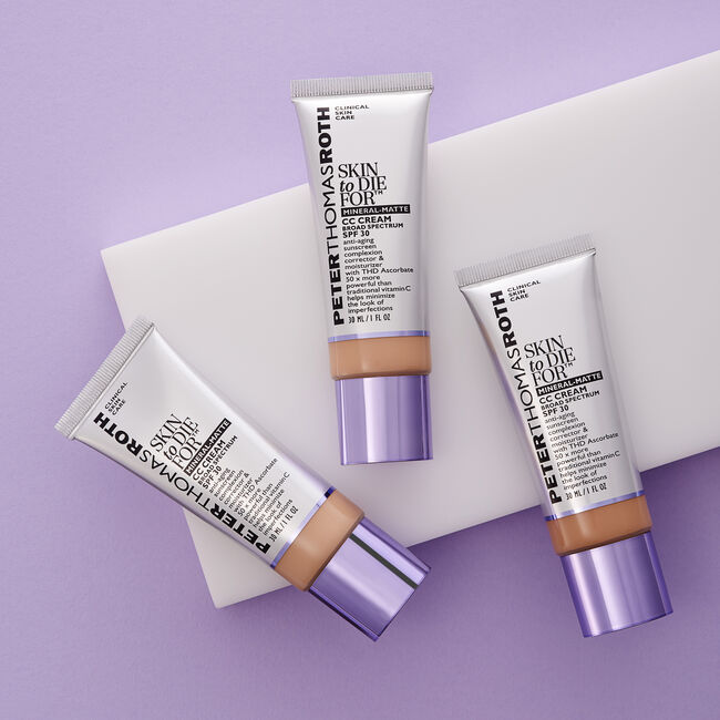 Skin To Die For Mineral Matte CC Cream SPF 30 - Medium,
