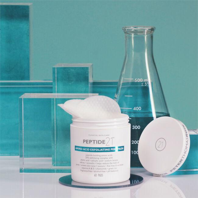 Peptide 21 Amino Acid Exfoliating Peel Pads,