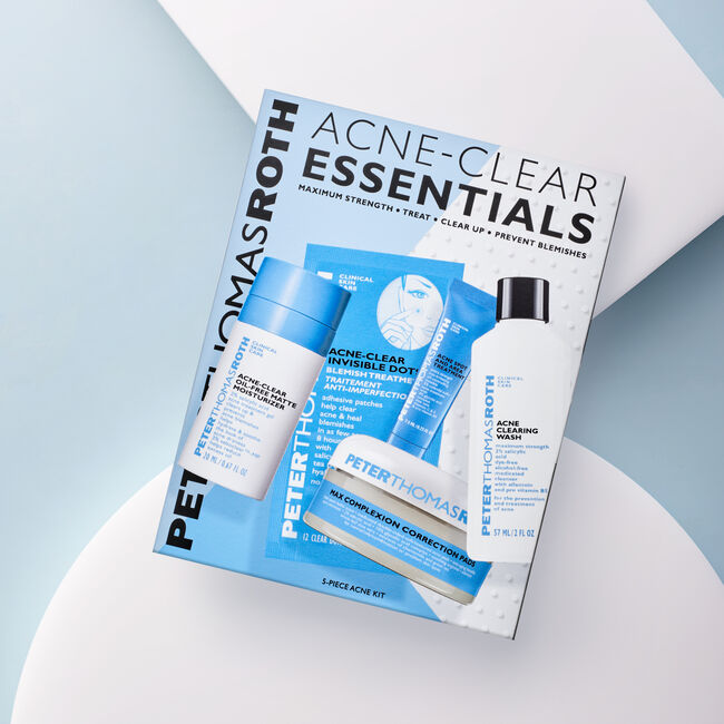 Acne-Clear Essentials 5-Piece Acne Kit,