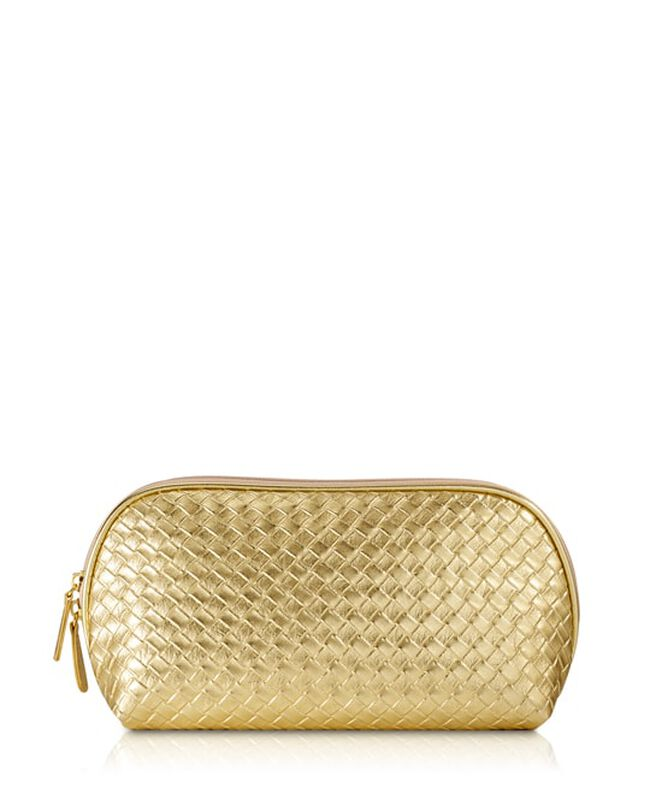Signature Gold Clutch,