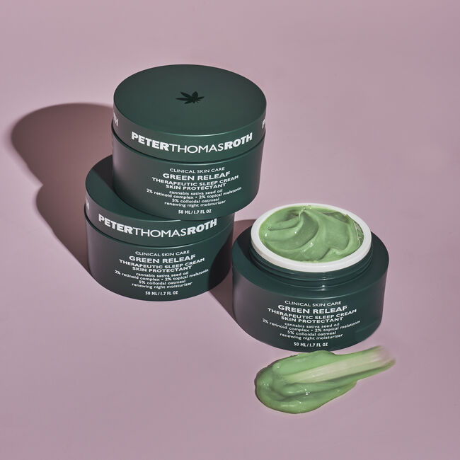 Green Releaf Therapeutic Sleep Cream Skin Protectant,