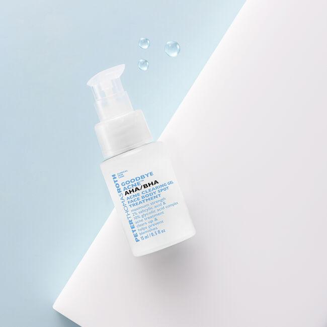 Goodbye Acne AHA/BHA Acne Clearing Gel Face Body Spot Treatment - Travel Size