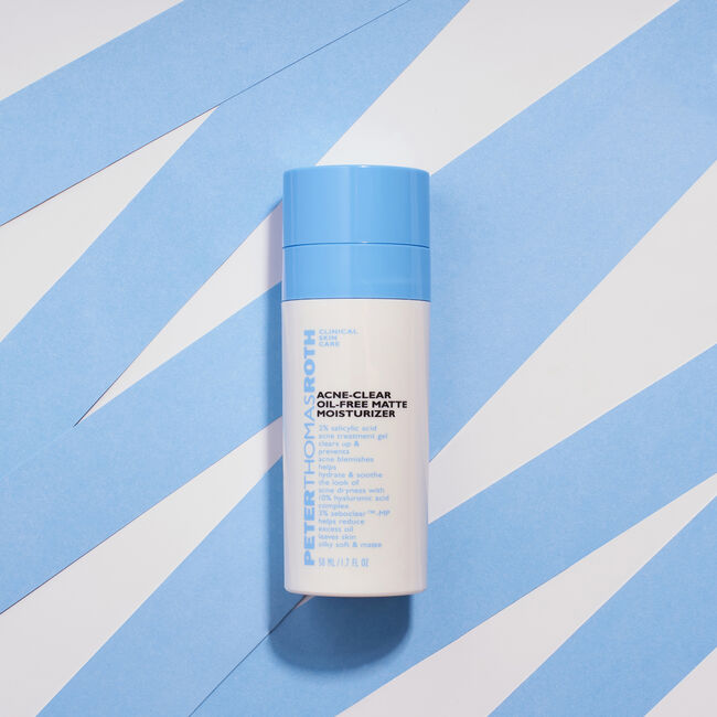 Acne-Clear Oil-Free Matte Moisturizer,