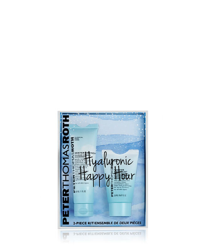 Hyaluronic Happy Hour 2-Piece Kit,