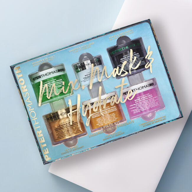 Mix, Mask & Hydrate 6-Piece Kit,