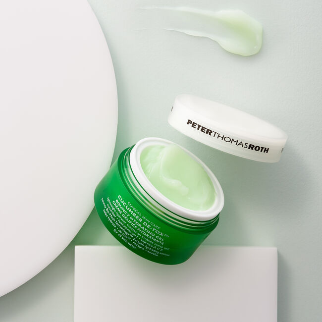 Cucumber De-Tox Bouncy Hydrating Gel,  image number null