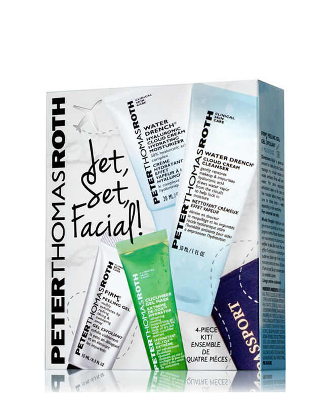 Jet, Set, Facial Kit! 4-Piece Kit,