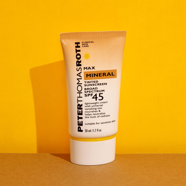 Max Mineral Tinted Sunscreen Broad Spectrum SPF 45,  image number null