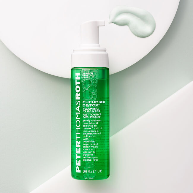 Cucumber De-Tox Foaming Cleanser,