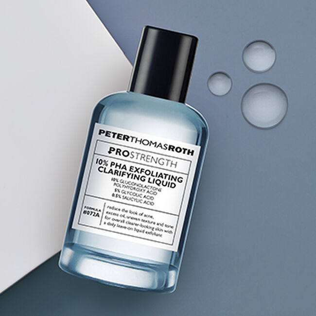PRO Strength 10% PHA Exfoliating Clarifying Liquid,  image number null