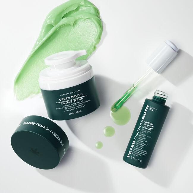 Green Releaf Calming Face Oil,