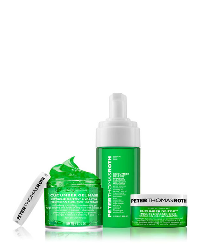 Cucumber De-Tox & De-Stress Kit,
