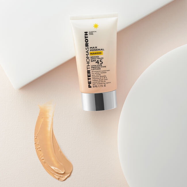 Max Mineral Naked Broad Spectrum SPF 45 Lotion,