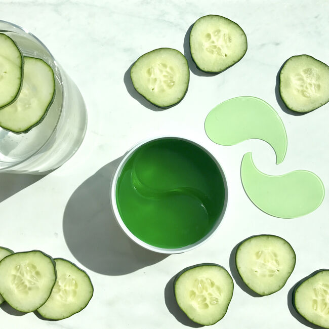 Cucumber De-Tox Hydra-Gel Eye Patches,  image number null
