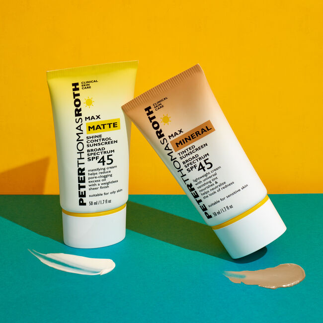 Max Matte Shine Control Sunscreen Broad Spectrum SPF 45,  image number null