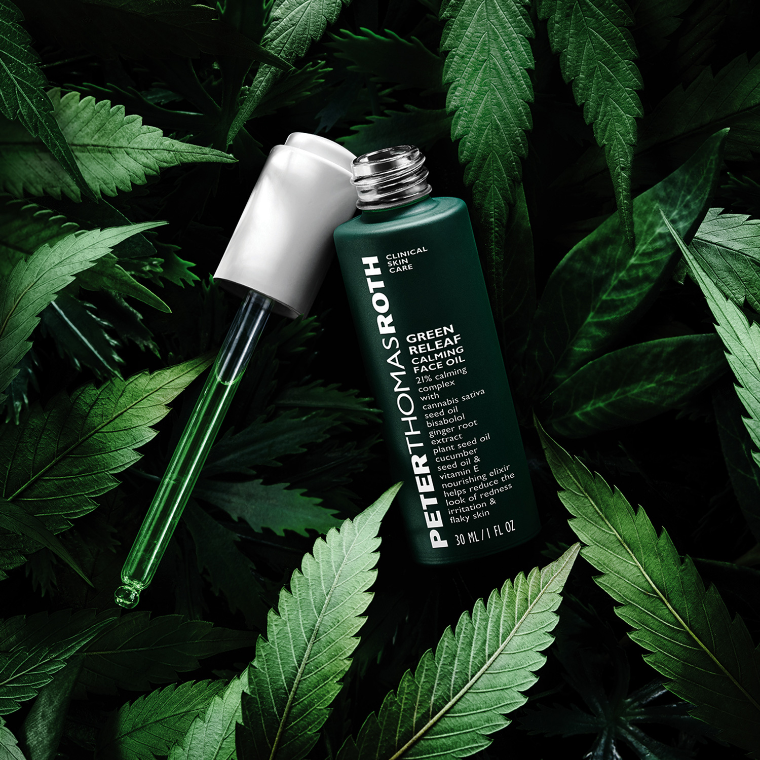 Green Releaf Calming Face Oil | Peter Thomas Roth