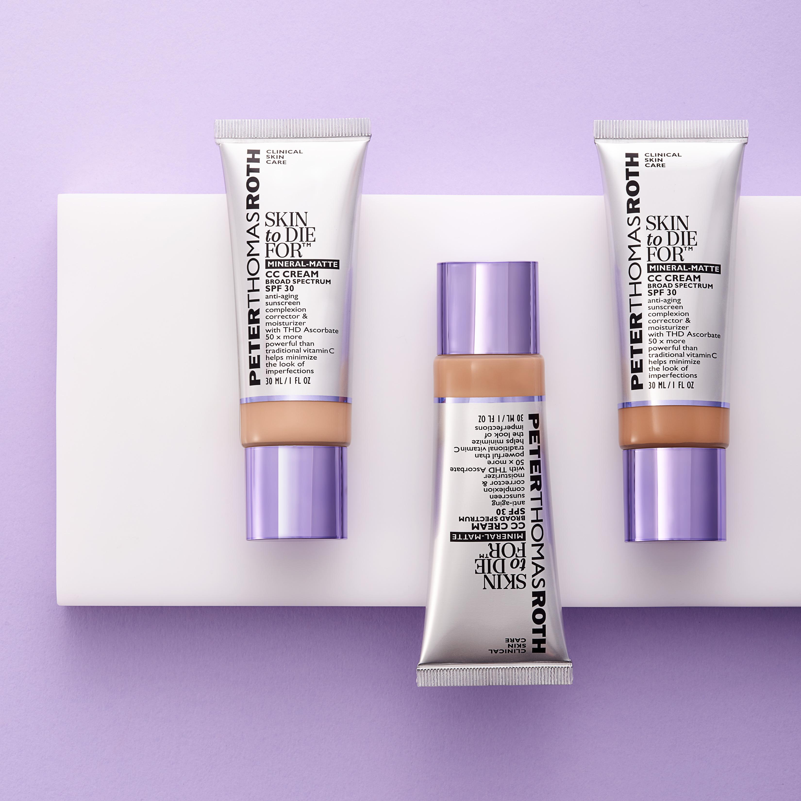 Skin To Die For Mineral Matte CC Cream Broad Spectrum SPF 30 - Light